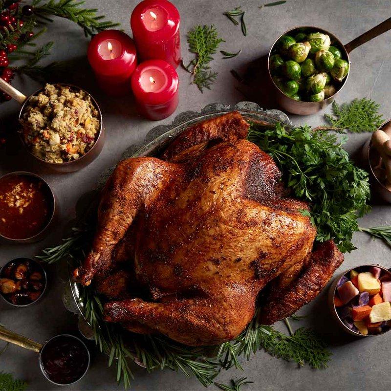 Traditional Whole Roasted Turkey