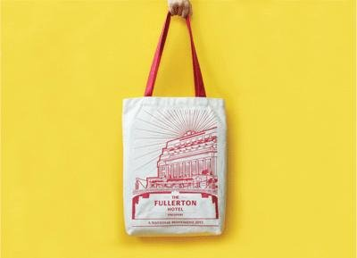 Fullerton Monument Tote Bag