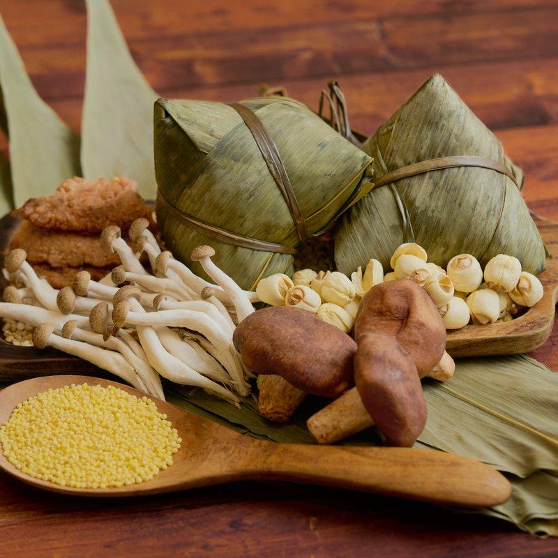 Organic Millet Five-Grain OmniMeat Glutinous Rice Dumpling
