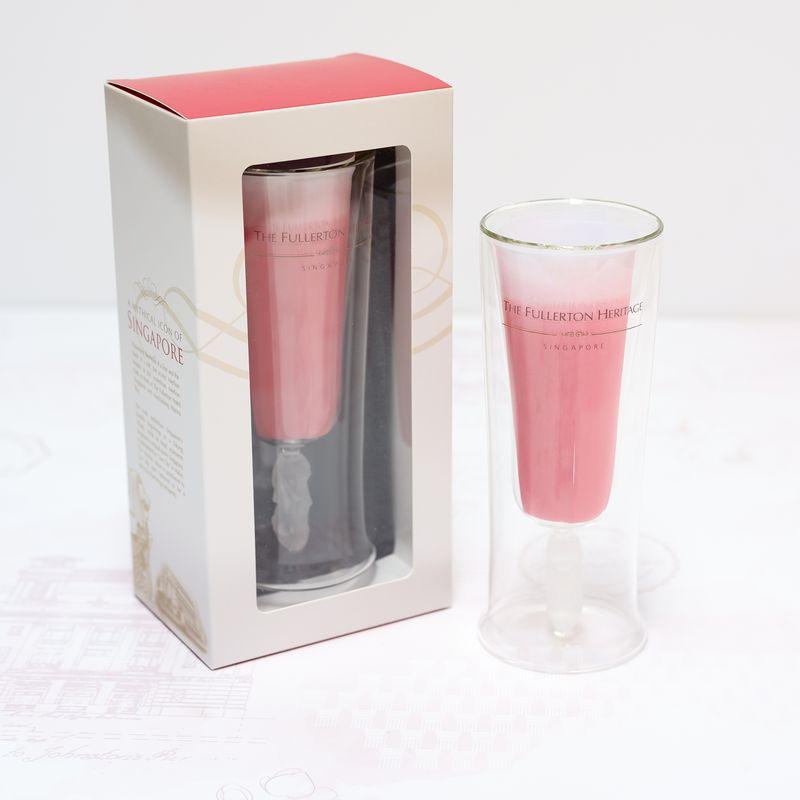Fullerton Merlion Cocktail Glass