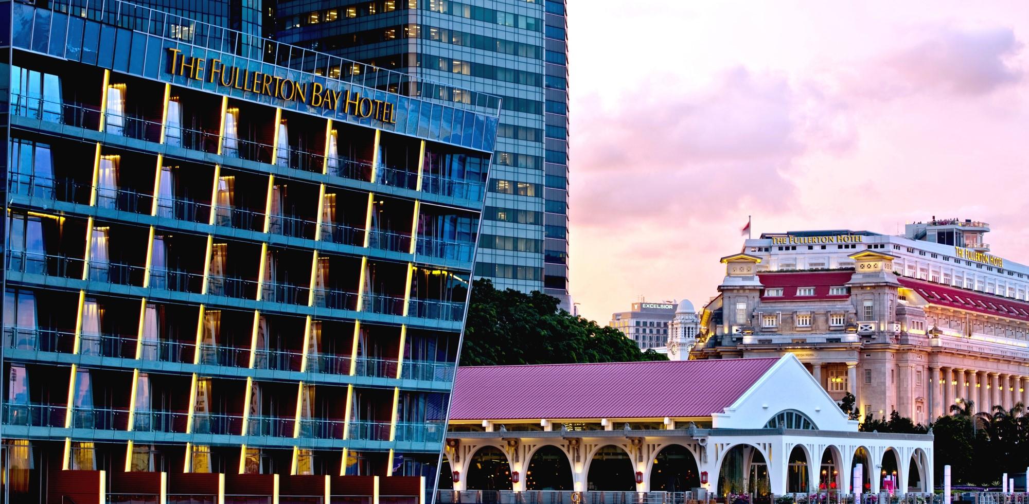 The Fullerton Hotel & The Fullerton Bay Hotel Singapore SGD200 Value E-Voucher