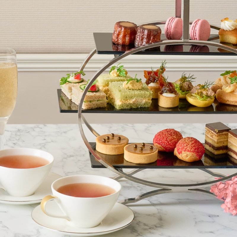 Weekend (Saturday or Sunday) Afternoon Tea for Two Adults at The Courtyard