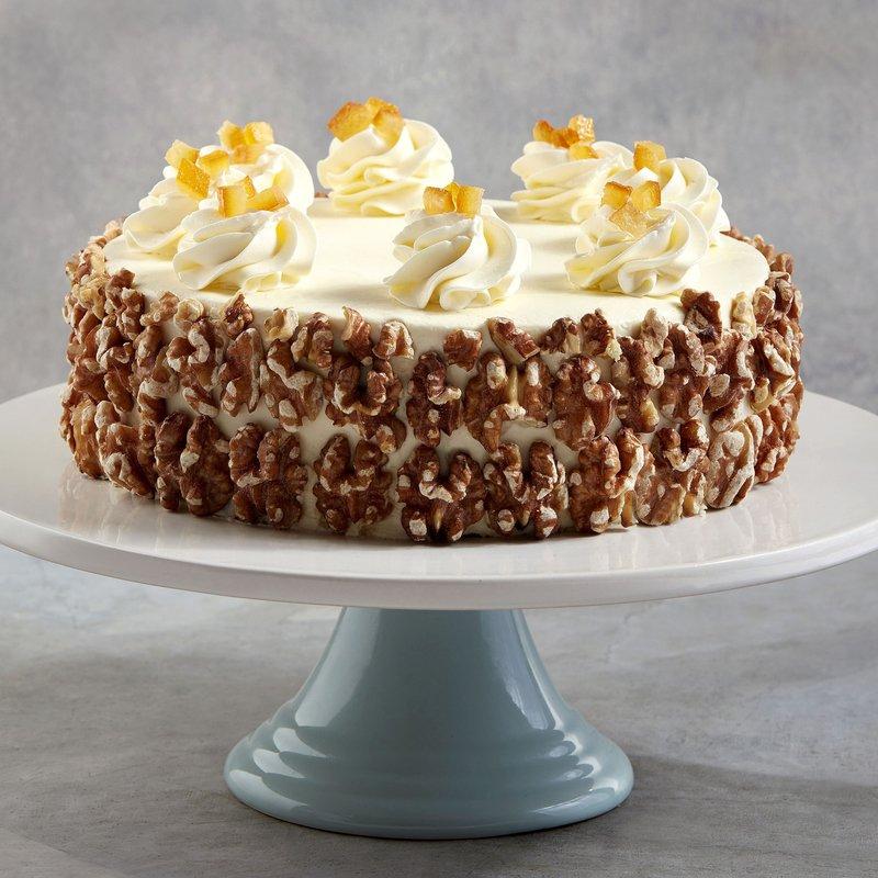 Carrot & Walnut Cake