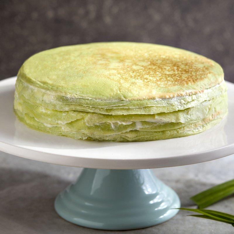 Pandan Kaya Crepe Cake